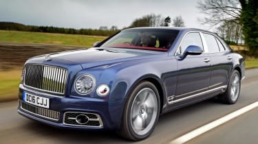 Bentley Mulsanne - front