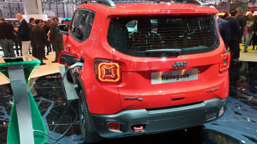Jeep Renegade PHEV - Geneva rear