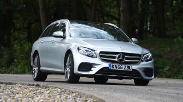 Mercedes E-Class Estate - front action