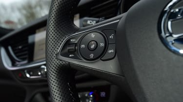 Vauxhall Insignia GSi Sports Tourer - steering wheel