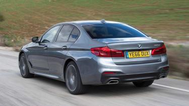 BMW 5 Series - rear