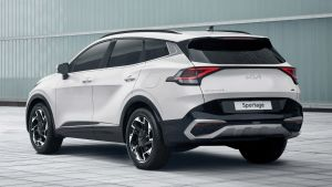 Kia Sportage - rear