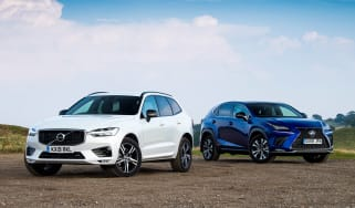 Volvo XC60 vs Lexus NX - header