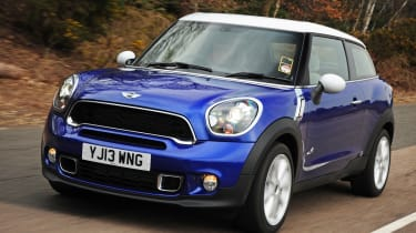 The MINI Paceman is a two door version of the Countryman, itself a jacked-up, four door version of the MINI Hatch. Confused?