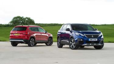Peugeot 3008 vs SEAT Ateca - head-to-head