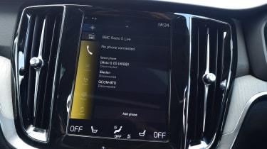 Volvo V60 - infotainment