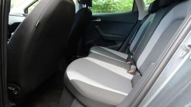 New SEAT Ibiza - rear seats
