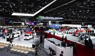 Geneva Motor Show 2017 - show stands 1