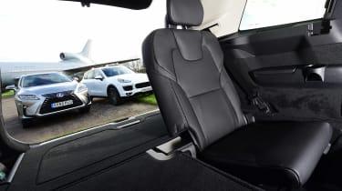 Lexus RX vs Porsche Cayenne vs Volvo XC90 - day