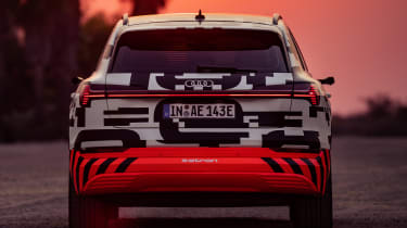 Audi e-tron Prototype review - rear