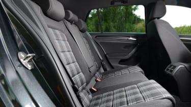 Volkswagen Golf GTD back seats