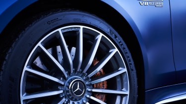 mercedes-amg gt 4-door alloy wheel