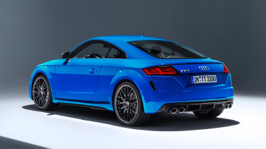 Audi TT S - studio rear