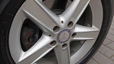 Used Mercedes SLK - wheel