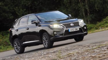 Used Lexus RX - front action