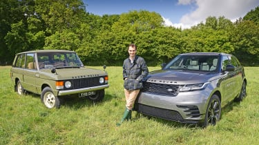 Range Rover Velar vs Range Rover Velar - James Batchelor