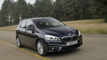 BMW 2 Series Active Tourer tracking