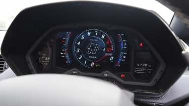 Lamborghini Aventador S Roadster - dials