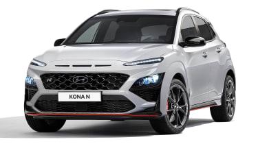 Hyundai Kona N - front studio