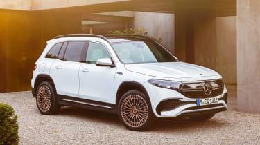 Mercedes EQB - front static