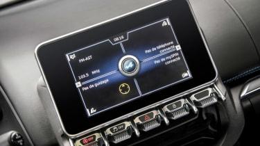 Alpine A110 ride review - infotainment