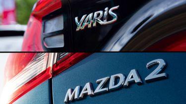 Toyota Yaris Mazda2
