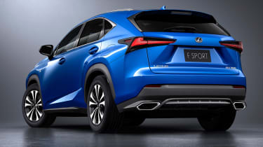 Lexus NX facelift 2017 studio