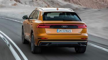 Audi Q8 - rear action