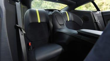 Aston Martin DB11 AMR  - rear seats
