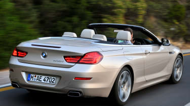 BMW 6 Series Convertible rear tracking