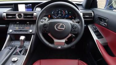 Lexus IS 200t F Sport dash