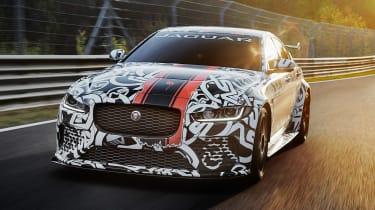 Jaguar XE SV Project8 - front