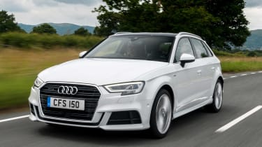 Used Audi A3 Mk3 - front action