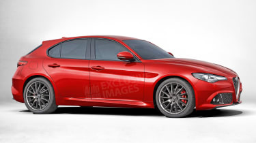 Alfa Romeo hatchback - exclusive image