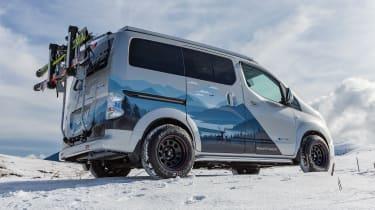 Nissan e-NV200 Winter Camper concept - rear