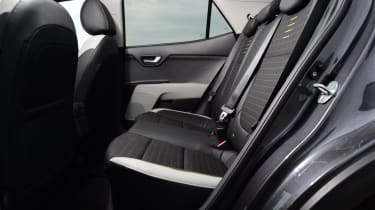 Kia Stonic - rear seats