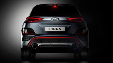 Hyundai Kona N - rear teaser