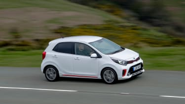 Kia Picanto GT Line - front above