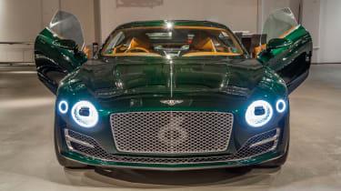 Bentley EXP 10 Speed 6 feature - nose