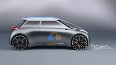 MINI Vision Next 100 concept - side