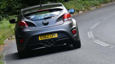 Hyundai Veloster Turbo rear action