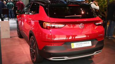 Vauxhall Grandland X Hybrid4 - Frankfurt rear