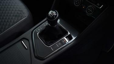Volkswagen Tiguan - gear stick