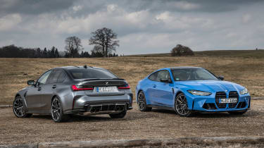 BMW M3 and M4 Competition xDrive - M4 front