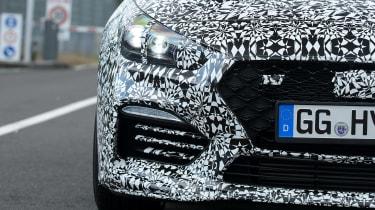 Hyundai i30 Fastback N prototype - front detail