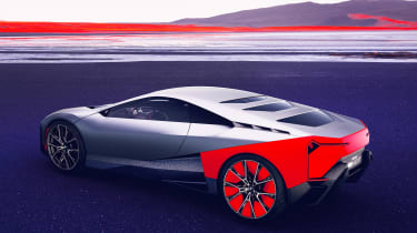 BMW Vision M NEXT concept - rear static