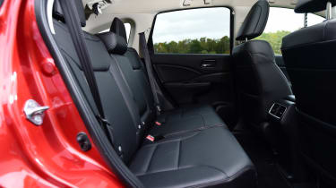 Honda CR-V long-termer rear seats