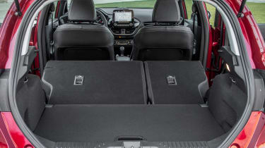 Ford Fiesta Titanium 2017 boot