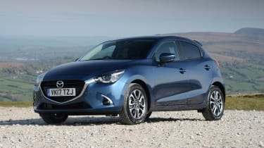 Mazda 2 - front static blue
