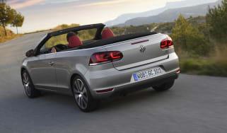 VW Golf Cabriolet rear